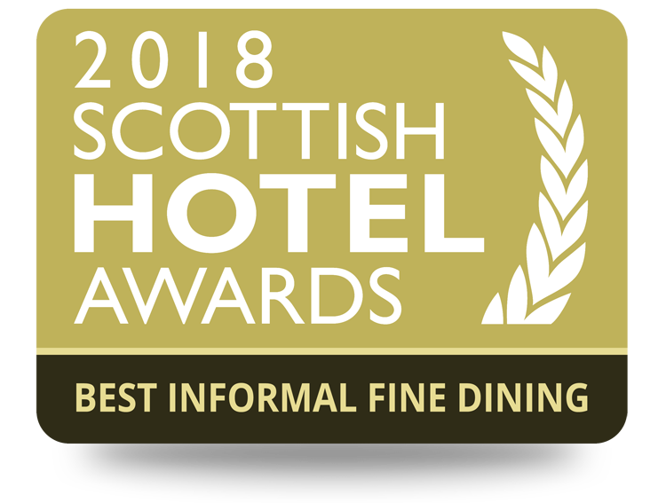2018 Scottish Hotel Award - Best Informal Fine Dining